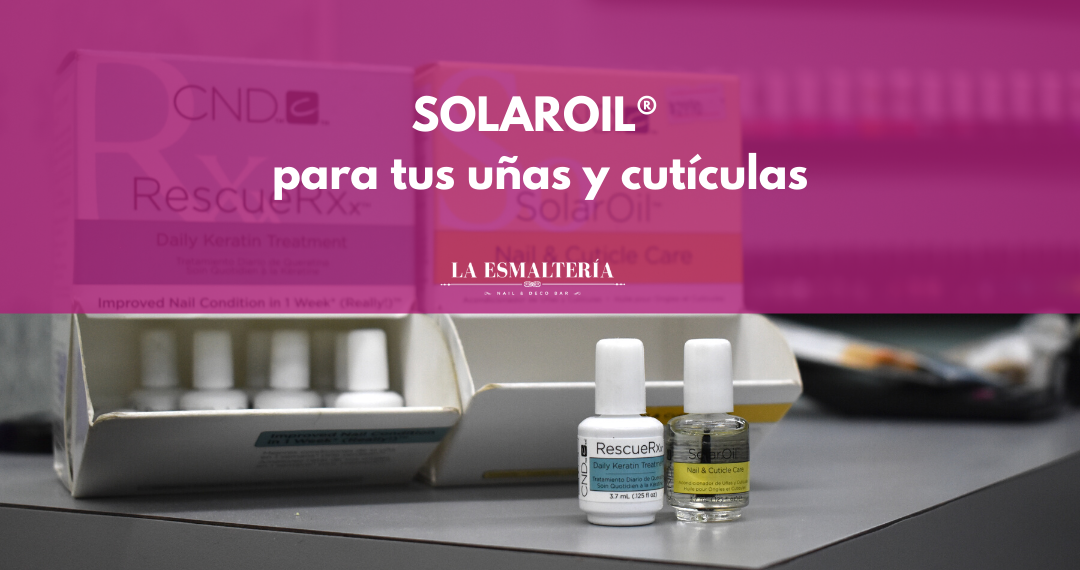 SOLAROIL® para tus uñas y cutículas